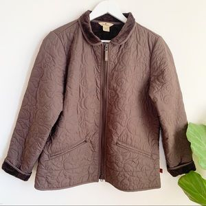Woolrich Puffer Fleece Dark Chocolate Jacket M